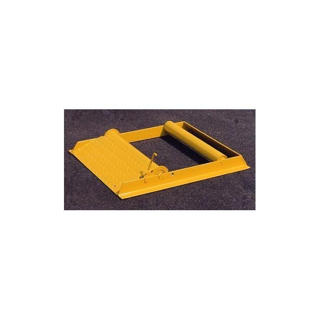 DEROULEUR A ROULEAUX 0,8 T DIA. 600/1050 mm
