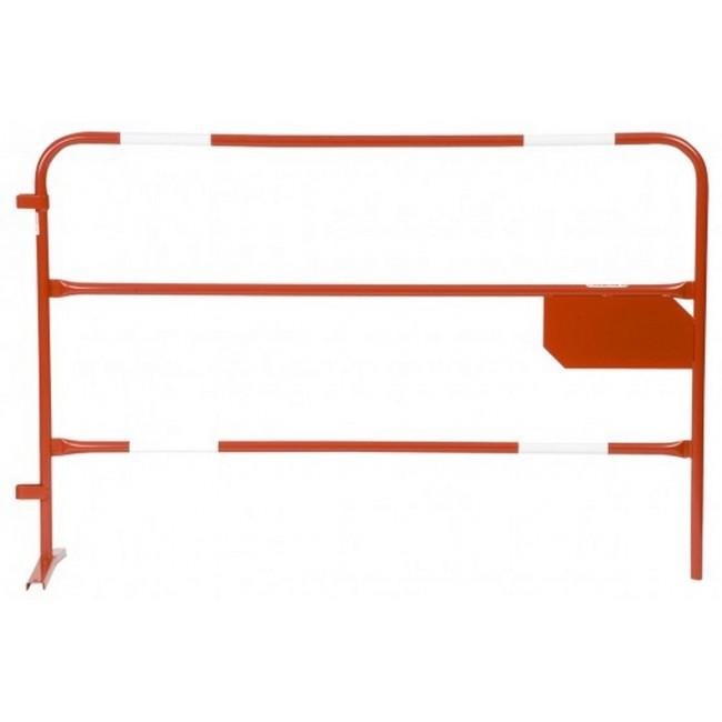 Barrière D.25-rouge-4bdes vinyles-plaque333x166
